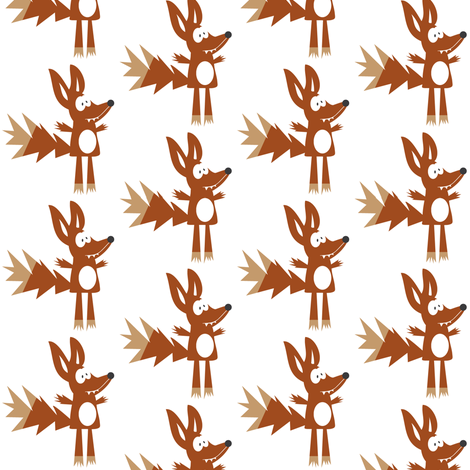 Foxy fabric by halfpinthome on Spoonflower - custom fabric