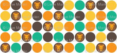 Lion confetti