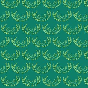 antlers emerald & tender shoots