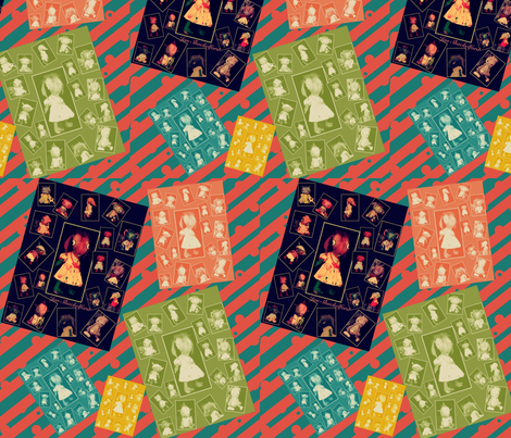 Jan  Shackelford Monsters  fabric by janshackelford on Spoonflower - custom fabric