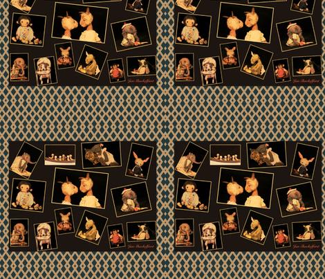 Jan Shackelford Animal Fun fabric by janshackelford on Spoonflower - custom fabric