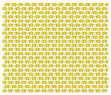 Little Yellow Lamb fabric by gigi_&_me on Spoonflower - custom fabric