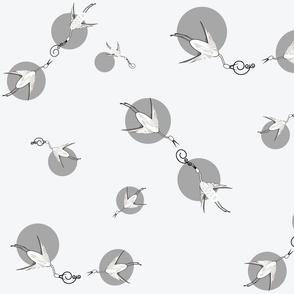 Silver_cranes