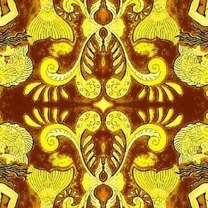 Grand Mermaids-brown/gold Orton