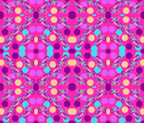 marzlene_motorcycle_beauty_2589 fabric by marzlene'z_eye_candy on Spoonflower - custom fabric