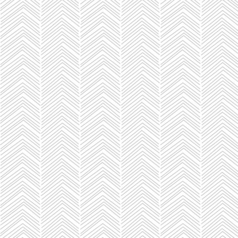 chevron love light grey fabric by misstiina on Spoonflower - custom fabric