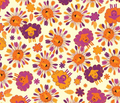 Vernal Equinox fabric by jennartdesigns on Spoonflower - custom fabric