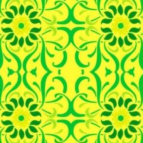 Art Nouveau60-yellow/green