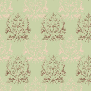 Floral Damask ~ L'Atelier