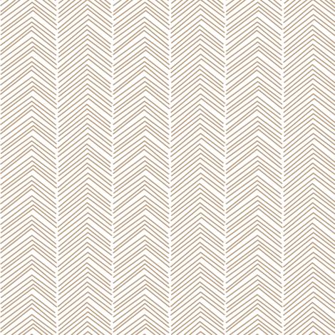 chevron love tan fabric by misstiina on Spoonflower - custom fabric