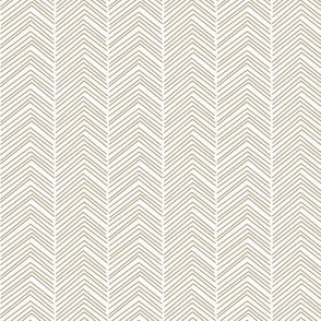 chevron love tan