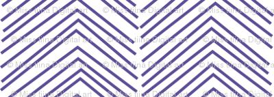 chevron love purple