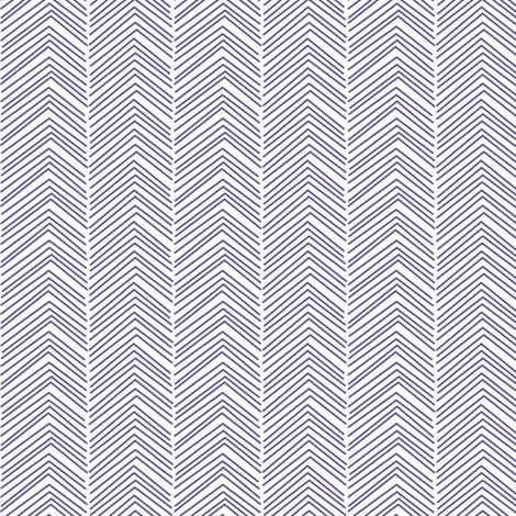 chevron love purple fabric by misstiina on Spoonflower - custom fabric