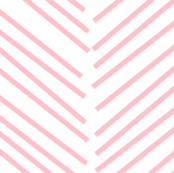 chevron love light pink