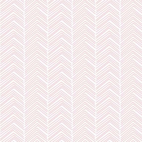 chevron love light pink