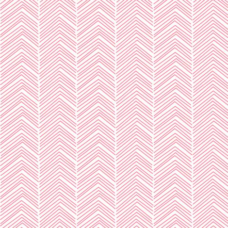 chevron love pretty pink fabric by misstiina on Spoonflower - custom fabric