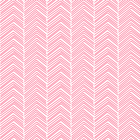 chevron love hot pink fabric by misstiina on Spoonflower - custom fabric