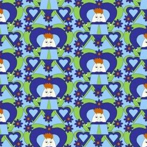 Dapper Devil Shamus Hawk Square Fabric