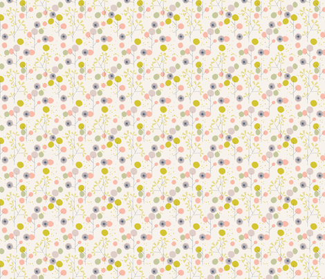 spotty trees fabric by bethan_janine on Spoonflower - custom fabric