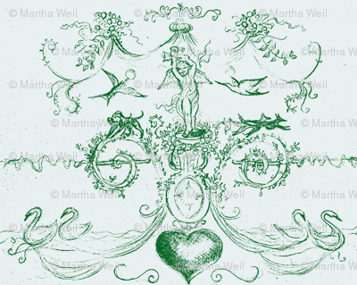 angel of hearts-green-