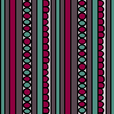 Interesting Stripe fabric by pond_ripple on Spoonflower - custom fabric