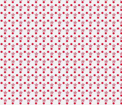 Star_Labels_3final-ch-ch-ch fabric by knita on Spoonflower - custom fabric