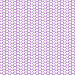 little purple clouds
