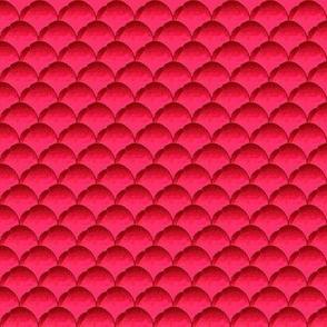 pink half circles