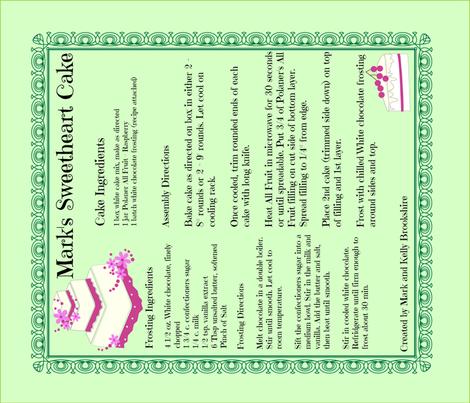 Tea_Towel_Marks_Sweetheart_Cake fabric by kfrogb on Spoonflower - custom fabric