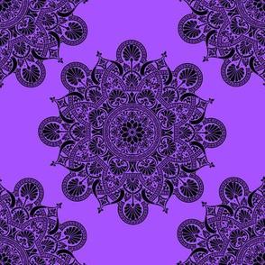fortune mandala lavender #a652fe