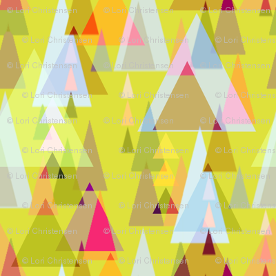 Triangle forest