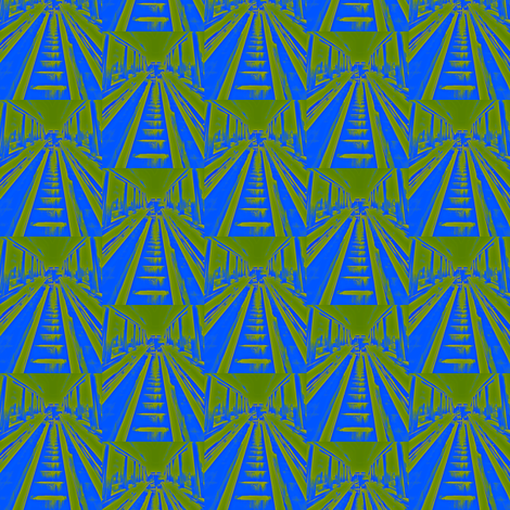 Escalator Tropicalia fabric by relative_of_otis on Spoonflower - custom fabric