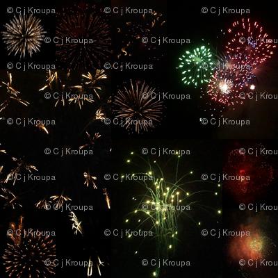 Fireworks (Black)