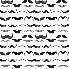 I mustache you