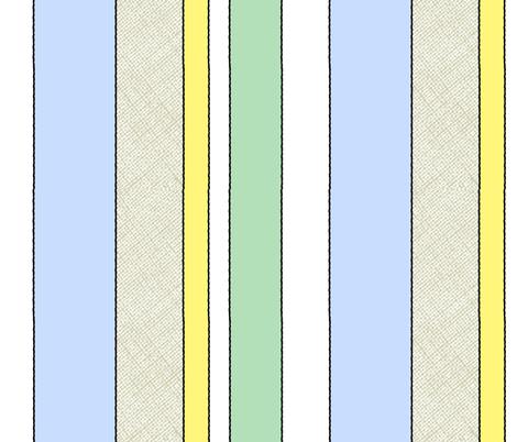 Hide and Seek / stripe fabric by paragonstudios on Spoonflower - custom fabric