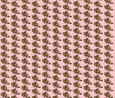 Elephant Pretty in Pink fabric by janshackelford on Spoonflower - custom fabric