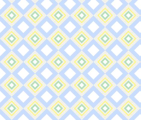 Hide and Seek / linen block fabric by paragonstudios on Spoonflower - custom fabric