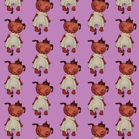 Monster  in Purple fabric by janshackelford on Spoonflower - custom fabric