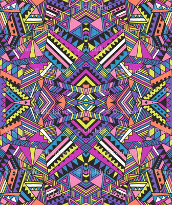 Aztec mirror_neon