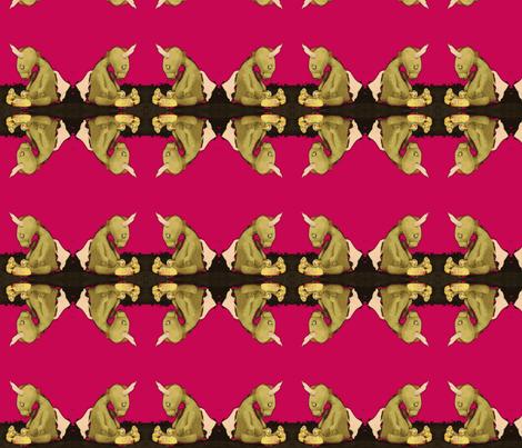 Dragon by Jan Shackelford fabric by janshackelford on Spoonflower - custom fabric