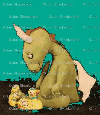 Dragon by Jan Shackelford GREEN