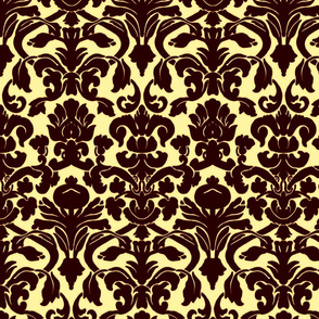 Damask_Brown_&_Cream
