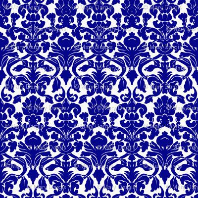 Damask_Cobalt_Blue