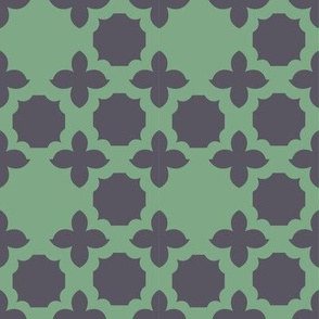 green_grey medallion