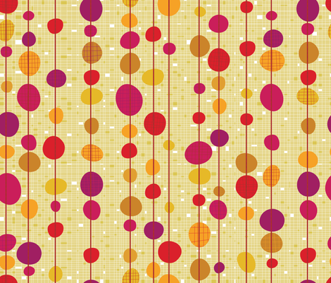 Roy's Cafe Dot fabric by cynthiafrenette on Spoonflower - custom fabric