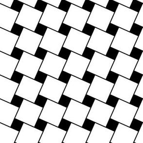Black & White Weave