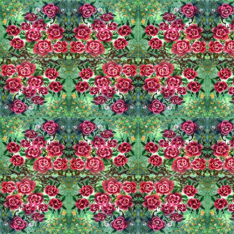 Roses_and_fairies fabric by vinkeli on Spoonflower - custom fabric