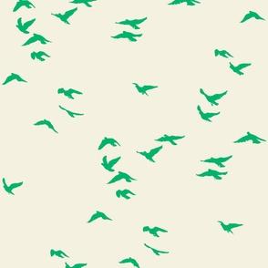 Emerald Flock Reversed