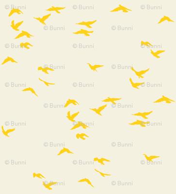 Sunshine Flock Reversed