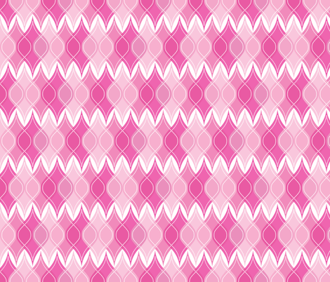 Pink Baubles fabric by robyriker on Spoonflower - custom fabric